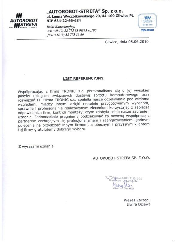 testimo_referencje_autorobot
