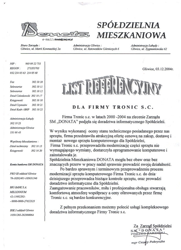 tronic_referencje_sm_donata